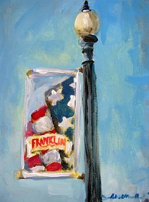 Franklin Banner Poster