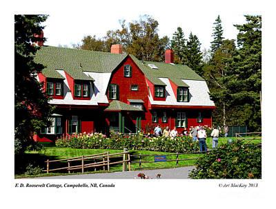 Franklin D. Roosevelt Cottage Campobello Nb Poster
