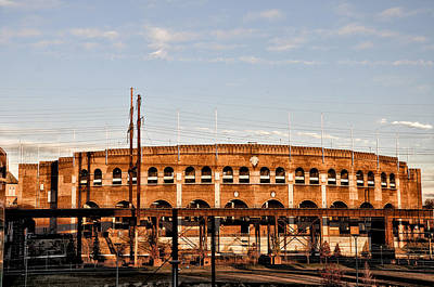 Franklin Field In The Morning Poster by Bill Cannon
