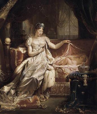 Franque, Joseph 1774-1833. Marie-louise Poster