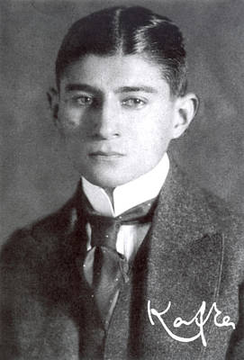 Franz Kafka (1883-1924) Poster by Granger