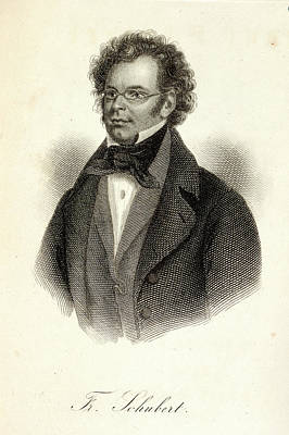 Franz Schubert Poster by British Library