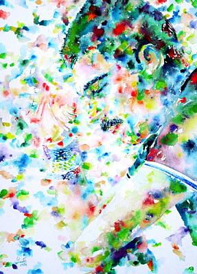 Freddie Mercury Portrait.7 Poster