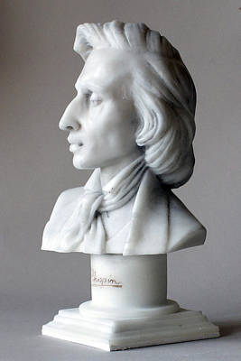 Frederic Chopin Bust Poster