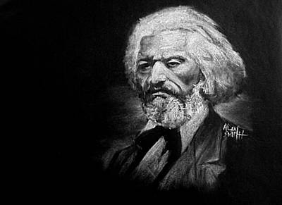 Frederick Douglass Poster by Alan Smith