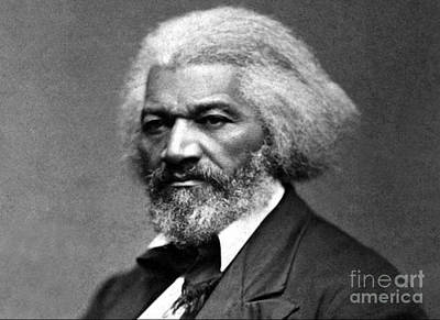 Frederick Douglass Born Slave Circa 1879 Poster by David Call