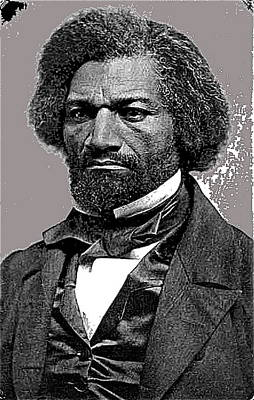 Frederick Douglass Unknown Date Or Location Poster by David Lee Guss