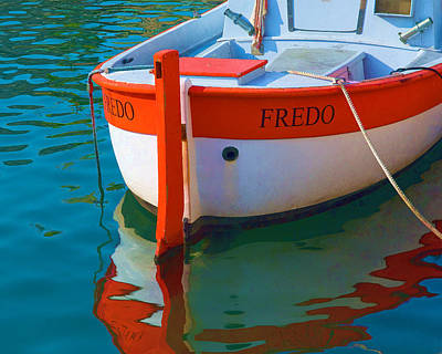 Fredo Poster by Joan Herwig