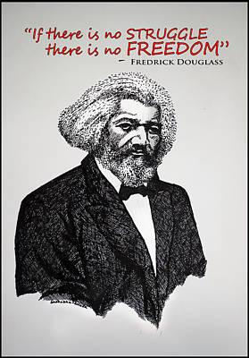 Fredrick Douglass Poster by Sushobha Jenner