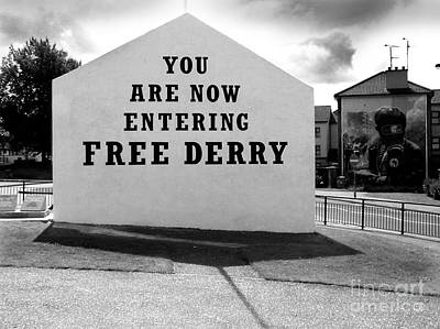 Free Derry Corner Poster by Nina Ficur Feenan