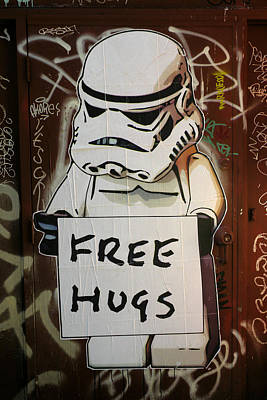 Free Hugs Poster by Brian Chase