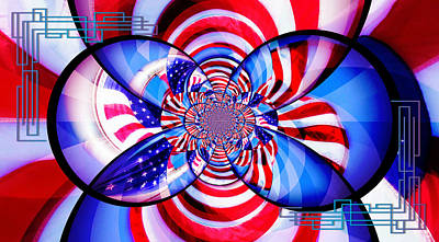Freedom Abstract  Poster