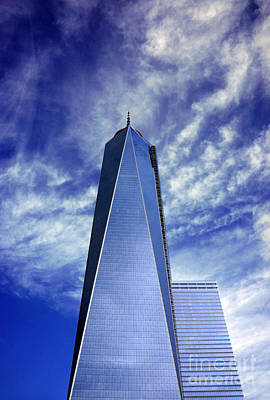 Poster featuring the photograph Freedom Tower - New York City by Rafael Quirindongo
