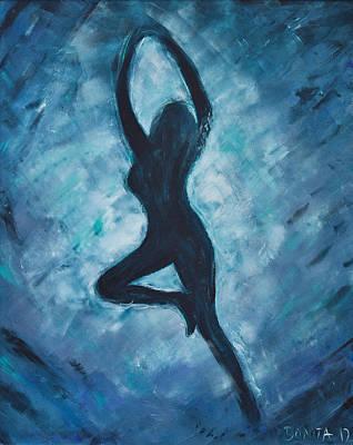 Freischwimmen Poster by Bonita Wangerin