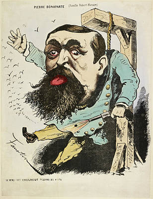 French Caricature - Pierre Bonaparte Poster by British Library