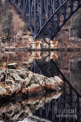French King Bridge Poster