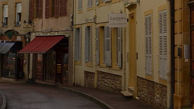 French Laneway Poster