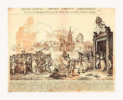 French Liberty, Nixon, John, -1818, Artist Poster by English School