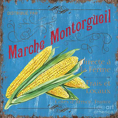 French Market Sign 2 Poster by Debbie DeWitt