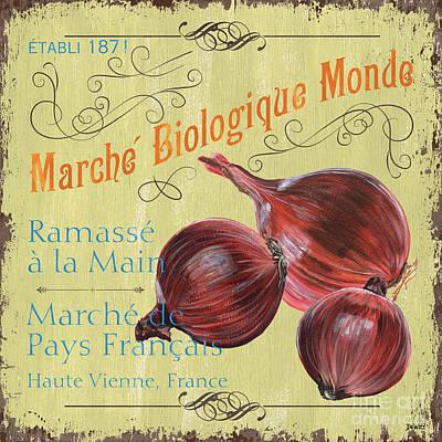 French Market Sign 4 Poster by Debbie DeWitt