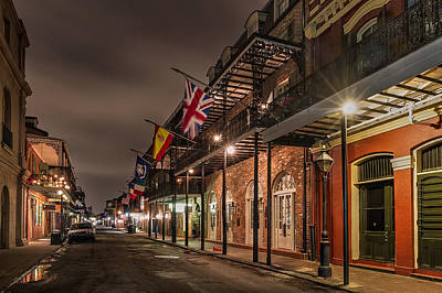 French Quarter Flags Poster by Tim Stanley
