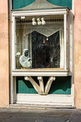 French Quarter Window Display Poster by Steve Harrington