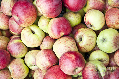Fresh Apples Background - Can Be Used As Wallpaper Poster by Aleksandar Mijatovic
