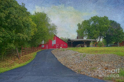 Poster featuring the photograph Fresh Country Charm by Liane Wright