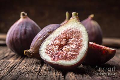 Fresh Figs Poster by Edward Fielding