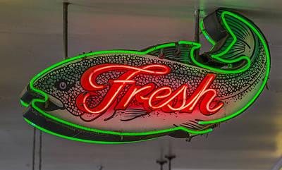 Fresh Fish Poster