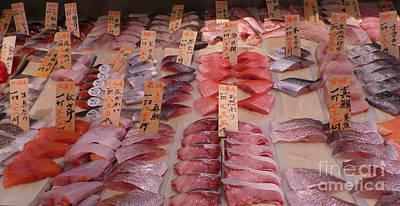 Fresh From Tsukiji Poster by David Bearden