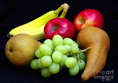 Fresh Fruit Two Poster by James C Thomas