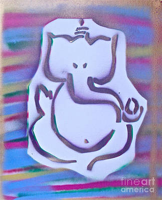 Fresh Ganesh 1 Poster by Tony B Conscious