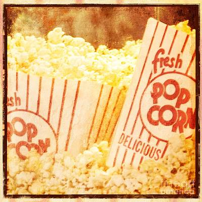 Fresh Hot Buttered Popcorn Poster