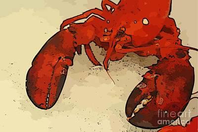 Fresh Lobster Poster