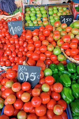 Fresh Produce, Mercado Do Bolhao Poster