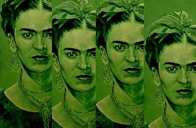 Frida 4u Poster