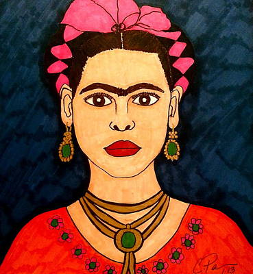 Frida Poster by Chrissy  Pena