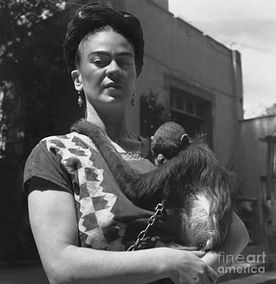 Frida Kahlo Poster by Fritz Henle
