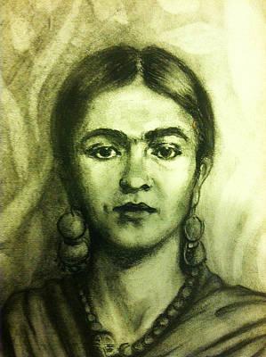 Frida Kahlo Poster by June Ponte