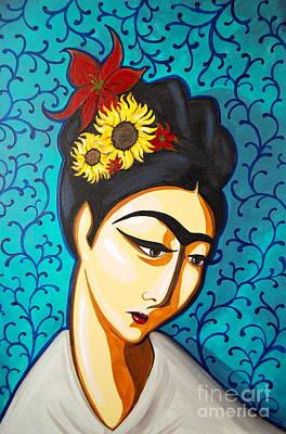 Frida Poster by Rebecca Mott