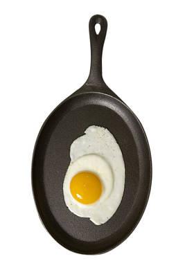 Fried Egg Sunny Side Up Poster