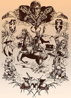 frodo- Tolkien appreciation Poster by Derrick Higgins