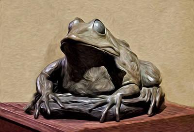 Froggy Poster by David Kehrli