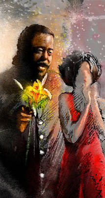 From Barry White With Love Poster by Miki De Goodaboom