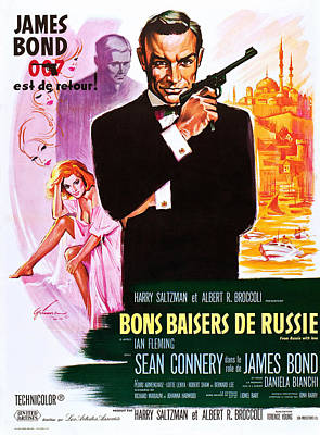 From Russia With Love Aka Bons Baisers Poster