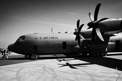 Front Of United States Air Force Aetc Cc130j Cc130 C130 C 130 130j Hercules Aircraft Poster by Joe Fox