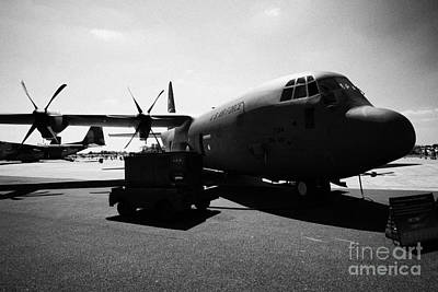 Front Of United States Air Force Aetc Cc130j Hercules Aircraft C130 C 130 Poster by Joe Fox