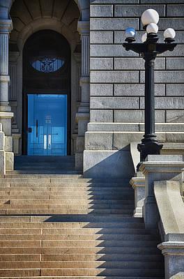 Front Steps Denver State Capitol Building Poster