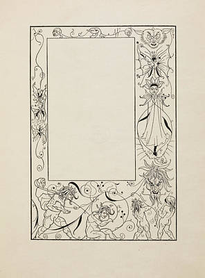 Frontispiece To Bon Mots Poster by British Library